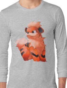 Pokemon Growlithe Long Sleeve T-Shirt