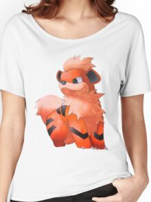 Pokemon Growlithe Women's Relaxed Fit T-Shirt