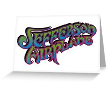 Jefferson Airplane Greeting Card