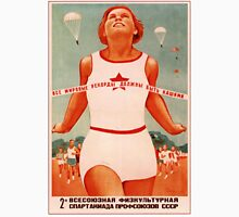 Soviet Propaganda - All World Records Must Be Ours! 1935 Unisex T-Shirt