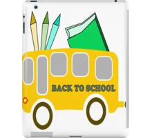 back to shool iPad Case/Skin