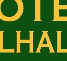 Hotel Valhalla Sticker