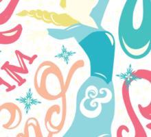 Frozen: Let it Go Sticker