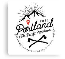 Portland PNW Canvas Print