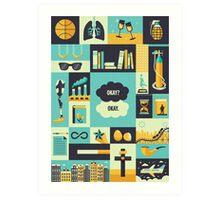TFiOS Items Art Print
