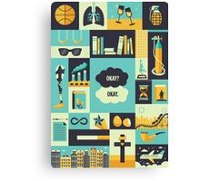 TFiOS Items Canvas Print