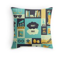 TFiOS Items Throw Pillow
