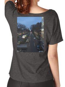 Hustle & Bustle Women's Relaxed Fit T-Shirt