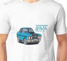 Ford Falcon XY GT HO Car toon, Bluey Unisex T-Shirt