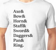 Lord of the Rings - Fellowship Unisex T-Shirt