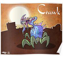 Crawk Poster