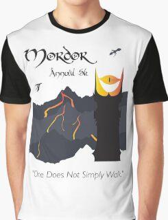 Mordor 5k Graphic T-Shirt