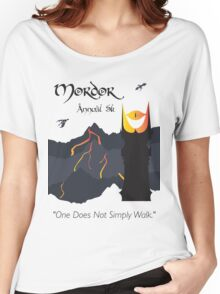 Mordor 5k Women's Relaxed Fit T-Shirt