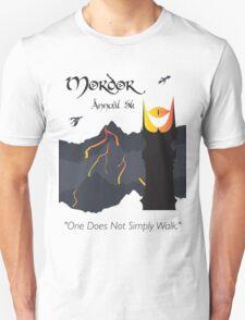 Mordor 5k Unisex T-Shirt