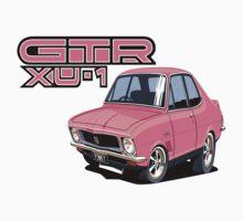 Holden LJ XU1 GTR Torana, Pinky car toon by UncleHenry
