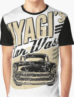 Mr Miyagis Car Wash Graphic T-Shirt