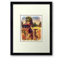 Down on The DAP Family Farm Framed Print