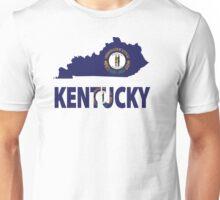 Kentucky Flag Map USA t-shirt Unisex T-Shirt