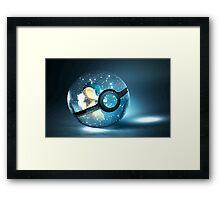 Pokemon Cyndaquil Framed Print