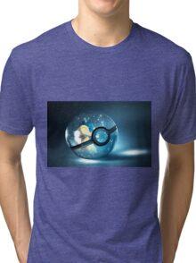 Pokemon Cyndaquil Tri-blend T-Shirt