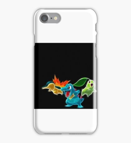 Pokemon Starters  iPhone Case/Skin