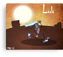 Luk Canvas Print