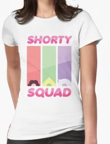 Steven Universe Shorty Squad Poster Womens Fitted T-Shirt