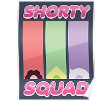 Steven Universe Shorty Squad Poster Poster