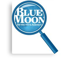 Blue Moon Detective Agency Canvas Print