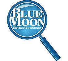 Blue Moon Detective Agency Photographic Print