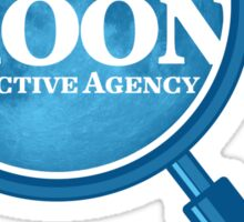 Blue Moon Detective Agency Sticker