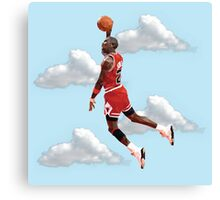 Jordan Polygon Art Canvas Print