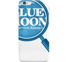Blue Moon Detective Agency iPhone Case/Skin