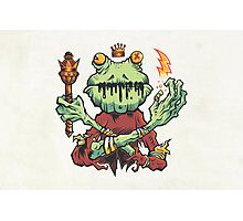 Frog King Photographic Print