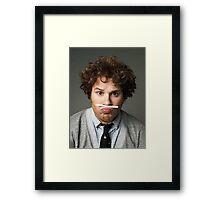 seth rogen  Framed Print