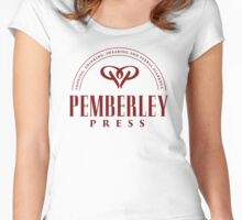 Pemberley Press Women's Fitted Scoop T-Shirt