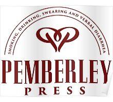 Pemberley Press Poster