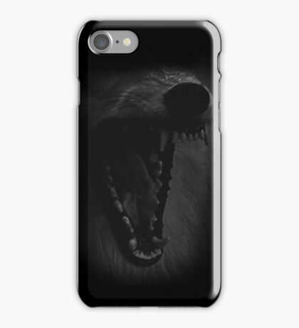 Wolf Teeth iPhone Case/Skin