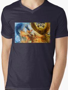 Pokemon Legendary Birds Mens V-Neck T-Shirt