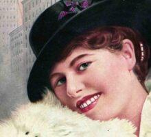 Winifred Kingston Magazine Sticker