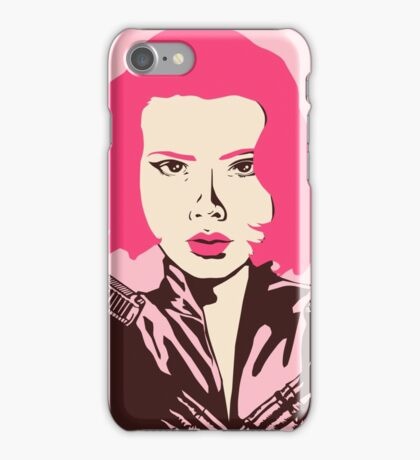 Black Widow Baby iPhone Case/Skin