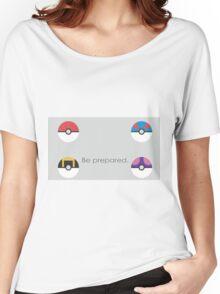 Pokemon Balls Women's Relaxed Fit T-Shirt