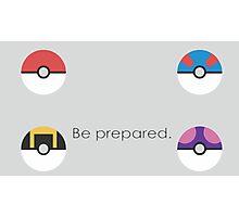 Pokemon Balls Photographic Print