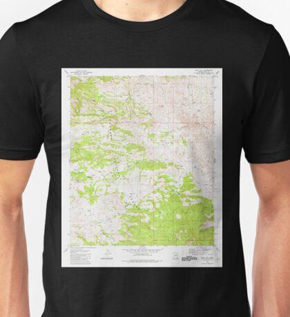 USGS TOPO Map Arizona AZ Piety Hill 312880 1981 24000 Unisex T-Shirt