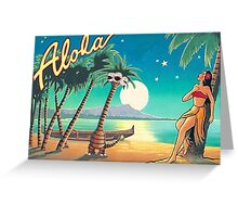 Greetings from Alola Greeting Card