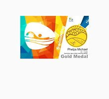 Phelps Michael Gold Medal Olympic Rio 2016 Unisex T-Shirt