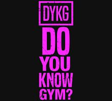 Do you know gym? Women's Fitted Scoop T-Shirt