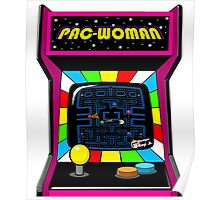 Pac Woman Poster