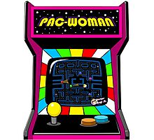 Pac Woman Photographic Print