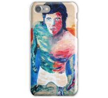 self portrait in jail iPhone Case/Skin
